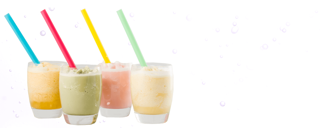 4 Bubble Tea drinks