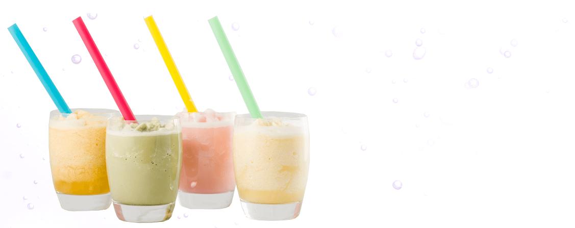 4 Bubble Tea drinks