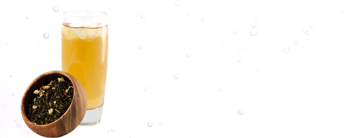 Green Tea Bubble Tea drink